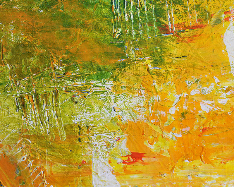 Abstract Acrylic Artist Painting royalty free stock photography