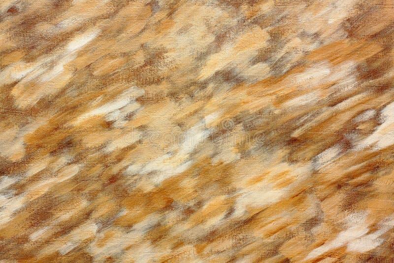 Abstract acrylic brush strokes painted canvas royalty free stock photos