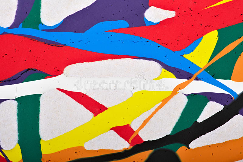 Abstract acrylic modern painting fragment stock photography