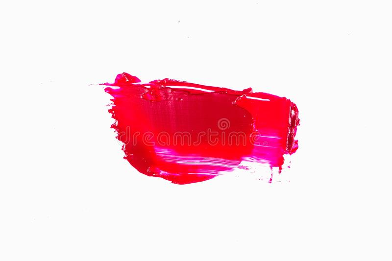 Abstract acrylic or oil color brush strokes stock images