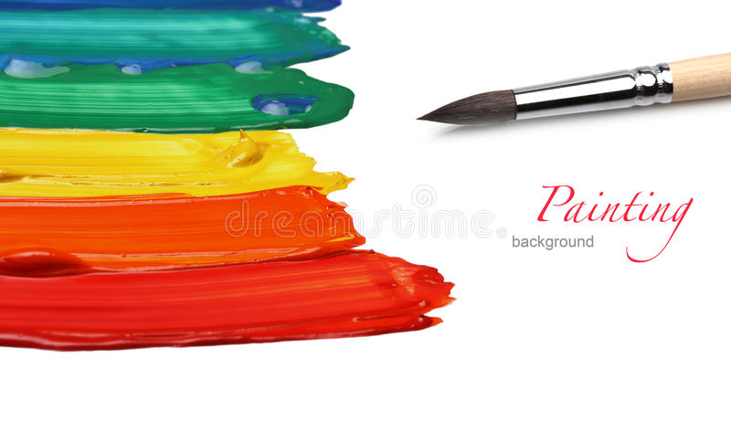 Abstract acrylic painted background. Art abstract acrylic painted background royalty free stock image