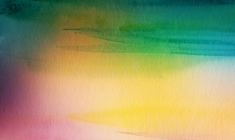 Abstract acrylic and watercolor brush strokes painted background. Texture paper royalty free stock images