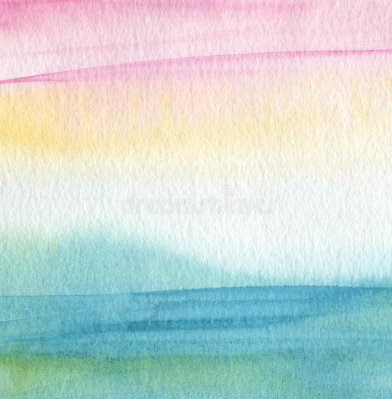 Abstract acrylic and watercolor painted background. Paper textured royalty free stock images