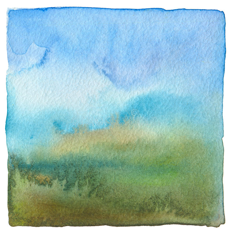 Abstract acrylic and watercolor painted background. Texture paper stock photography