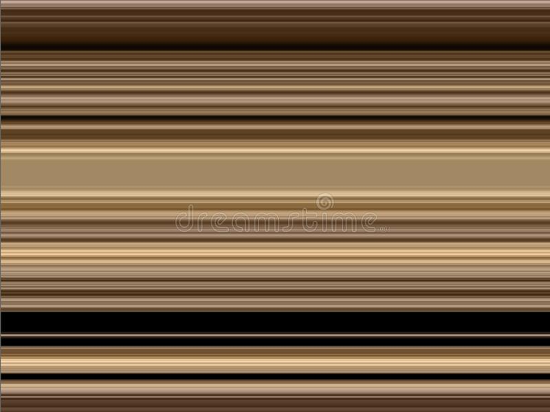 Abstract modern dynamic brown gold decorative pattern stock illustration