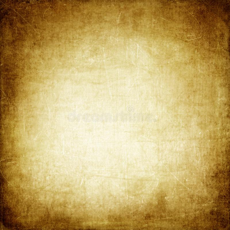 Brown paper background ,vintage,retro,old paper,stains,scratches,blank,beige,antique stock image