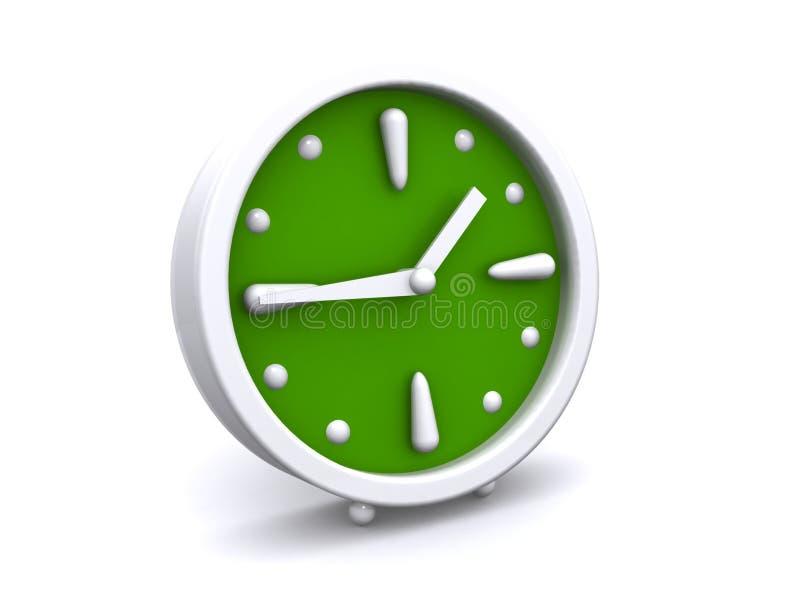 Abstract alarm clock royalty free illustration