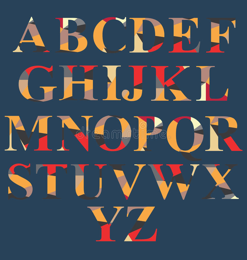 Download Abstract Alphabet Set stock vector. Image of document - 42693687