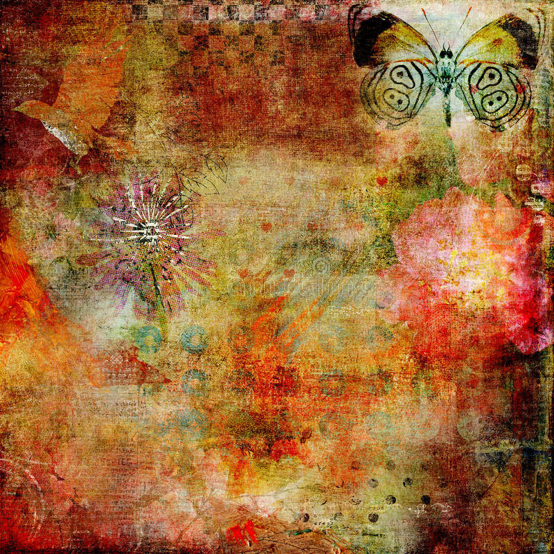 Free Abstract Altered Art Background 1 Royalty Free Stock Images - 23002539