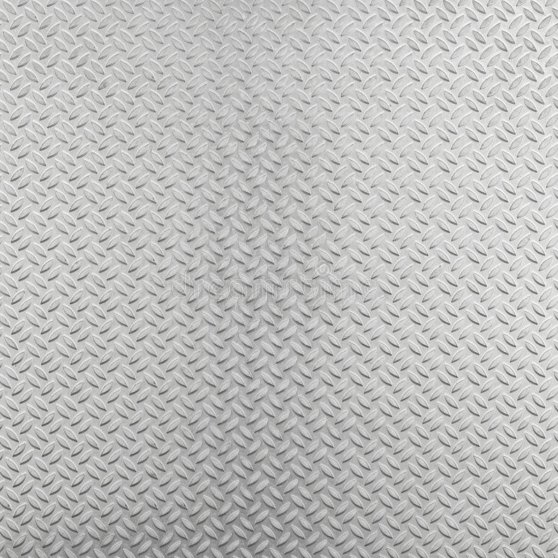 Abstract aluminum checker plate background stock photography