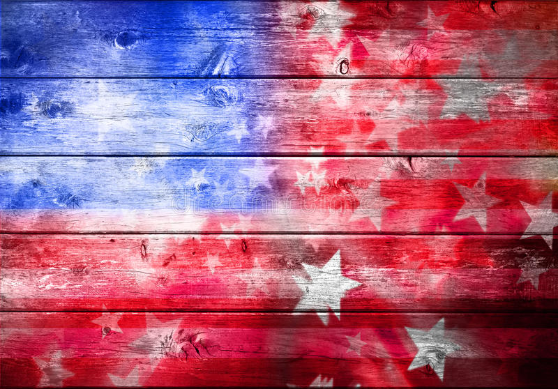 Abstract American Flag Background stock images