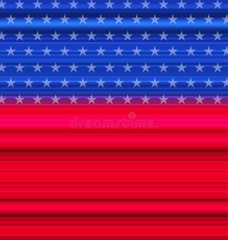 Abstract American Flag for happy 4th of july. Illustration abstract American Flag for happy 4th of july - vector stock illustration