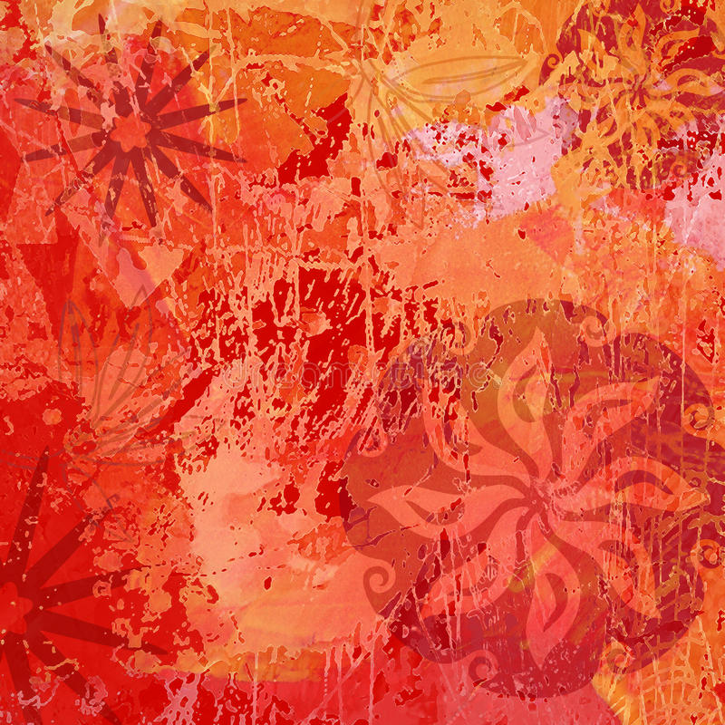 Free Abstract And Flower Texture Background Stock Images - 12870114