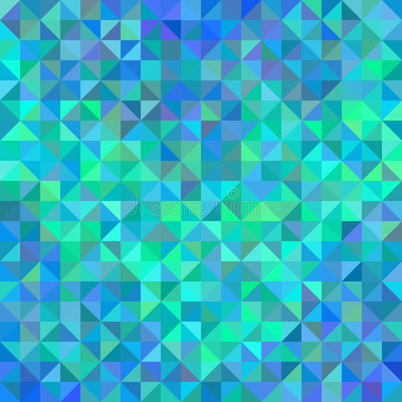 Abstract Angle Background In Blue And Turquoise Stock