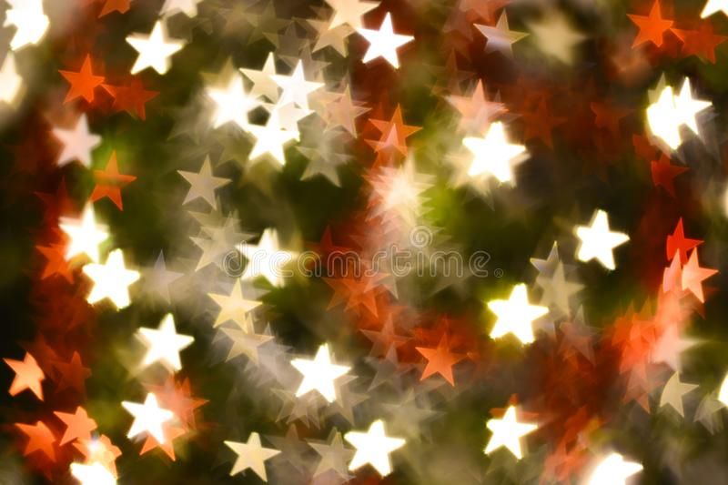 Abstract stars shape bokeh for background. Abstract stars shape bokeh for texture background beautiful blink blur blurred bright brilliant card carnival stock photos