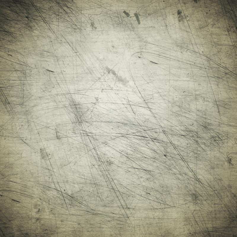 Grey grunge background of old paper, stains, dust, scratches, rough, vintage royalty free stock image