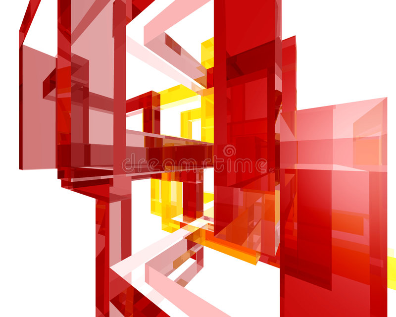 Abstract Archi Structure004 vector illustration