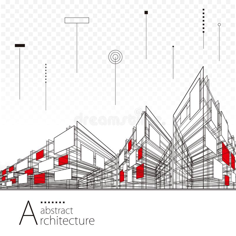 Abstract architectural drawing background stock vector download abstract architectural drawing background stock vector illustration of development blueprint 114181579 malvernweather Images