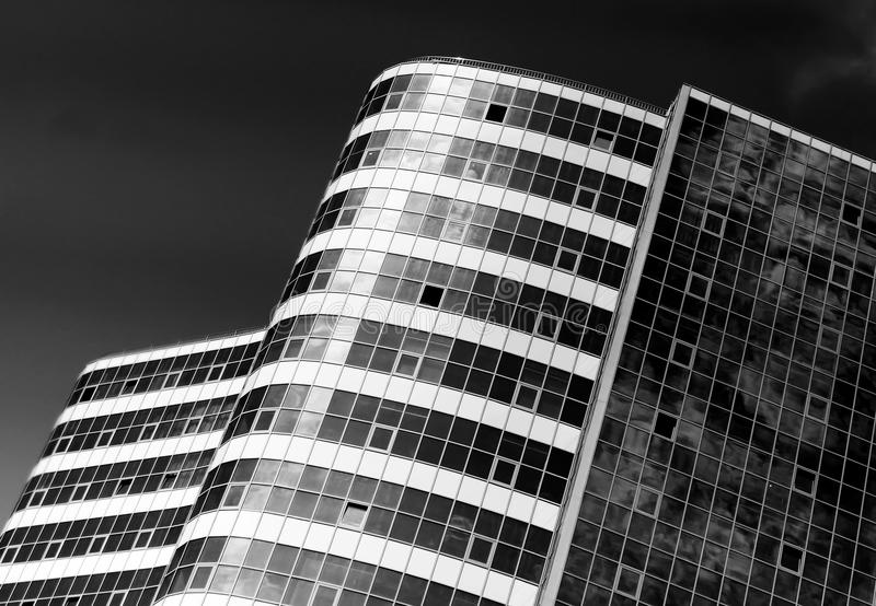 Abstract architectural view. Architecture details and fragments stock photography