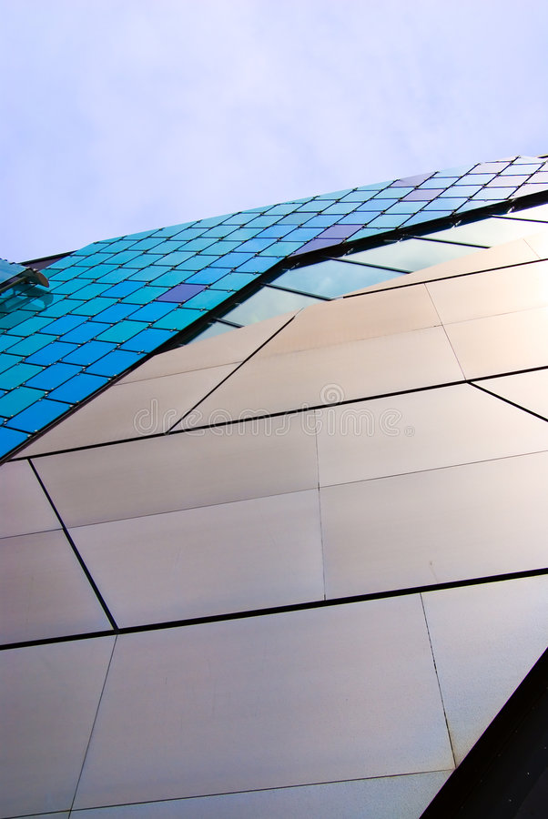 Abstract architecture stock image