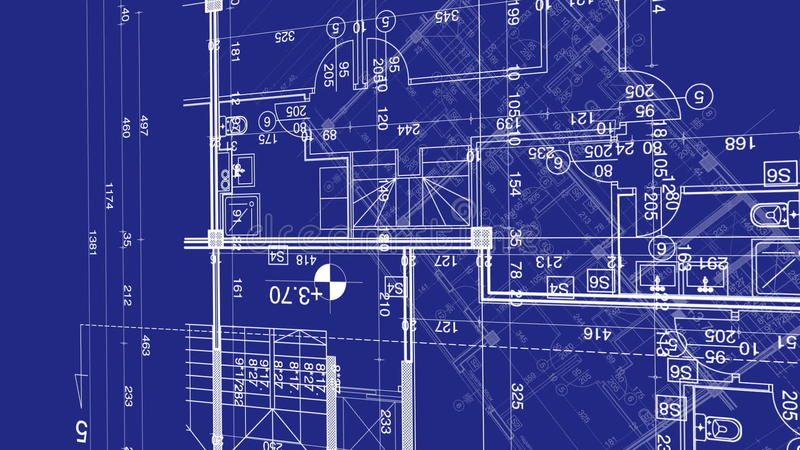 Abstract architecture background blueprint house plan with sketch abstract architecture background blueprint house plan with sketch of city animated in background stock footage video of residential built 93850302 malvernweather Gallery