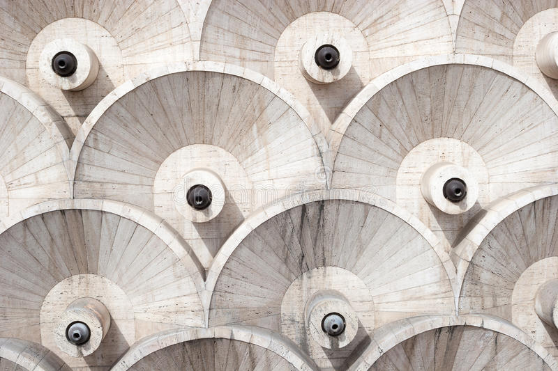 The abstract architecture design details of Cascade, Yerevan , Armenia royalty free stock images