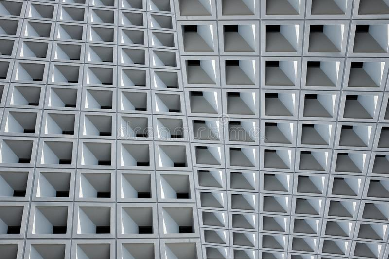 Abstract Architecture - Facade.Abstract modern architecture. stock image
