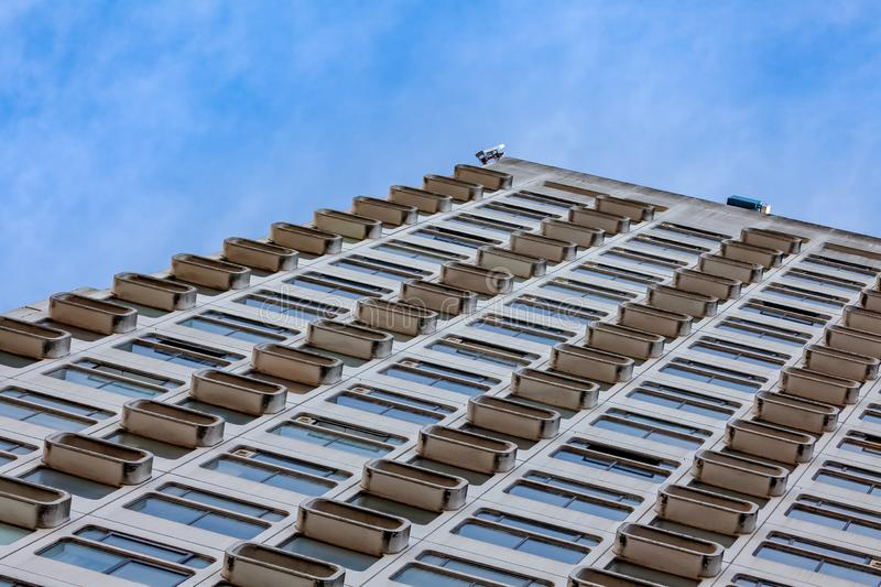Abstract architecture building bule sky stock images
