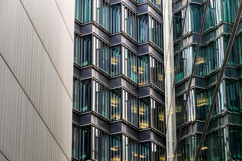 Abstract Architecture of a Modern Building royalty free stock photo