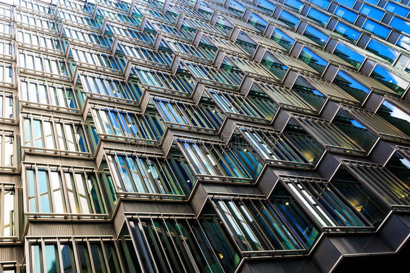 Abstract Architecture of a Modern Building royalty free stock image