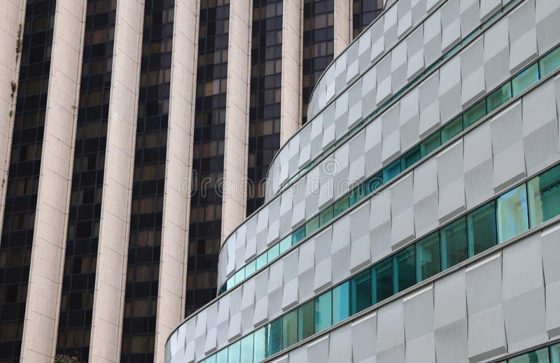 Abstract architecture modern design building royalty free stock photos