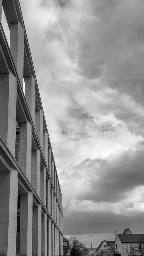 Abstract architecture photography for background usage. Abstract architecture photography background usage home building glass walls window urban sky stock images