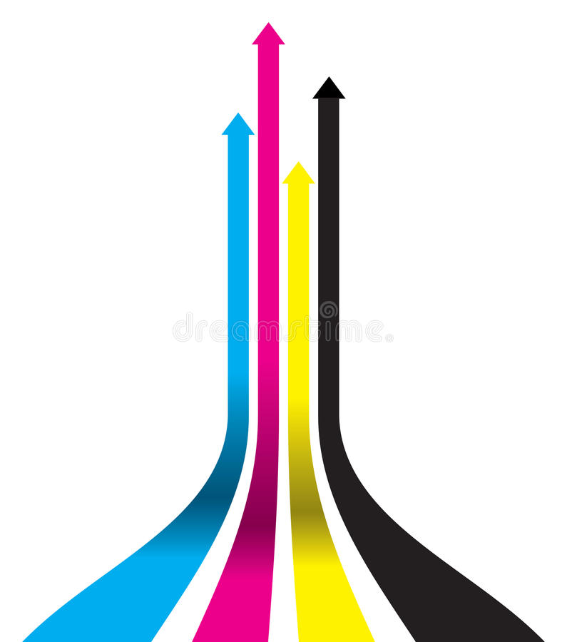 Abstract Arrow Background Royalty Free Stock Images