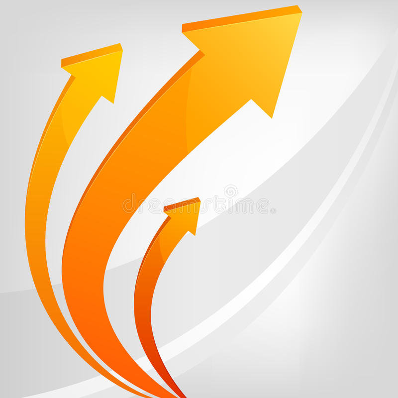Abstract  arrows with gray background