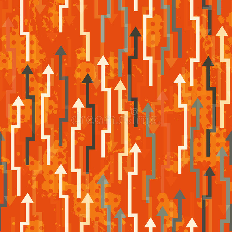 Abstract arrows seamless