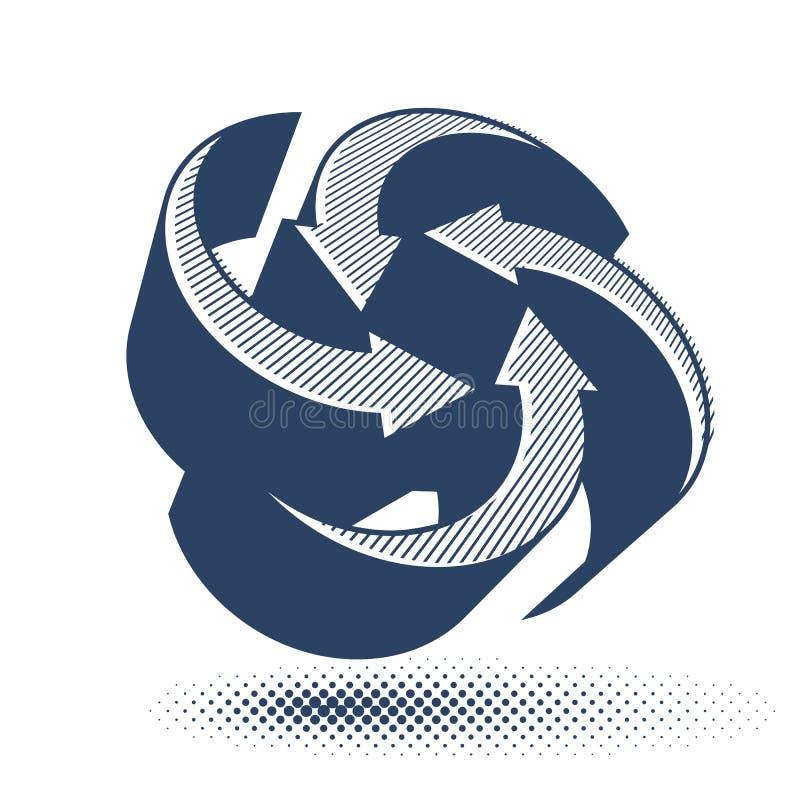 Download Abstract Arrows Vector Symbol, Vector Graphic Design Template, V Stock Vector - Illustration: 42239479