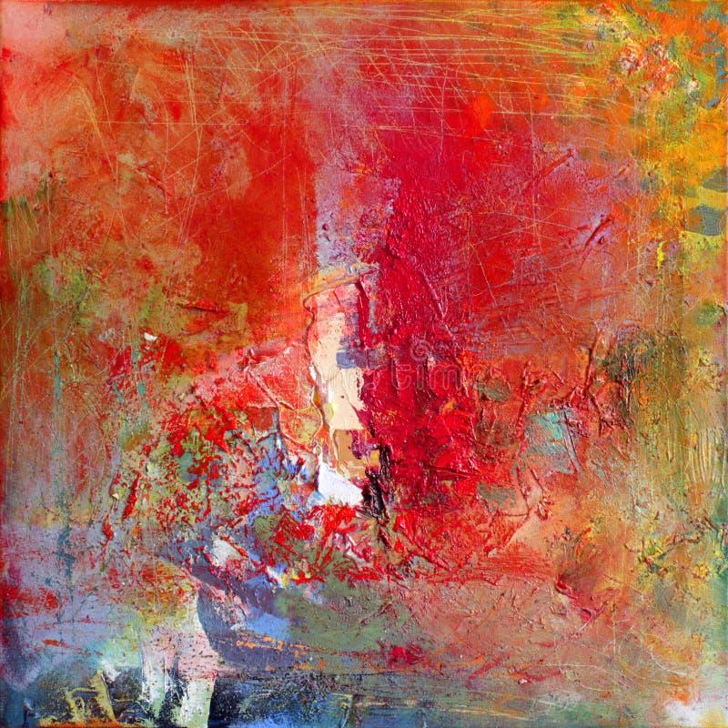Abstract art. stock illustratie