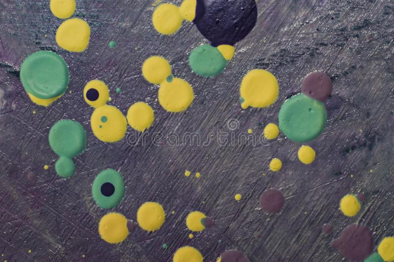 Oil painting colorful drops on canvas photo jpg royalty free stock image