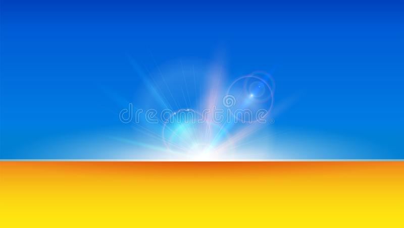 Abstract art background with blurred rays and beams. Use for invitations, placards, covers, leaflets. Defocused glare. Effect, soft focus. Vector 3d stock illustration