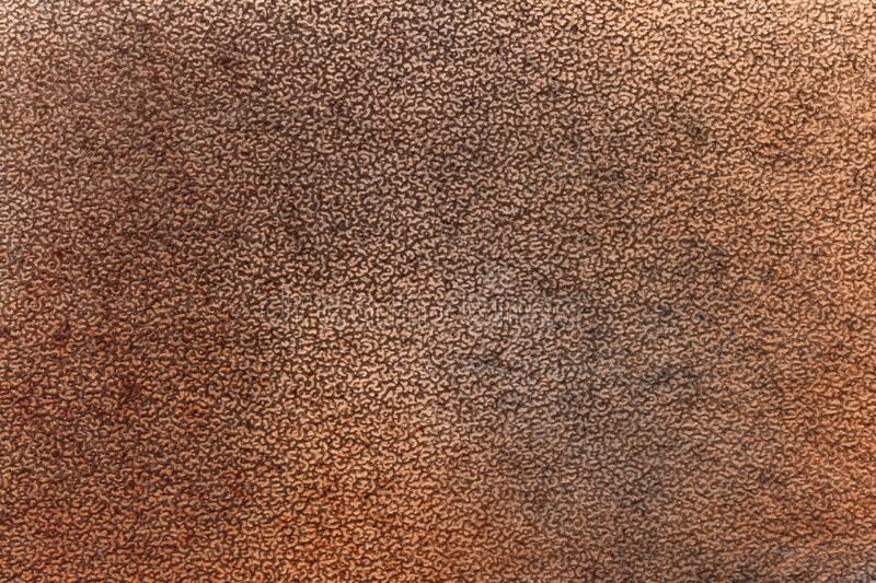 Abstract art background dark brown and bronze colors. Watercolor painting on canvas. With rusty gradient. Fragment of artwork on paper with pattern. Texture royalty free illustration
