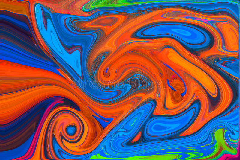 Abstract art background. With different shapes vector illustration