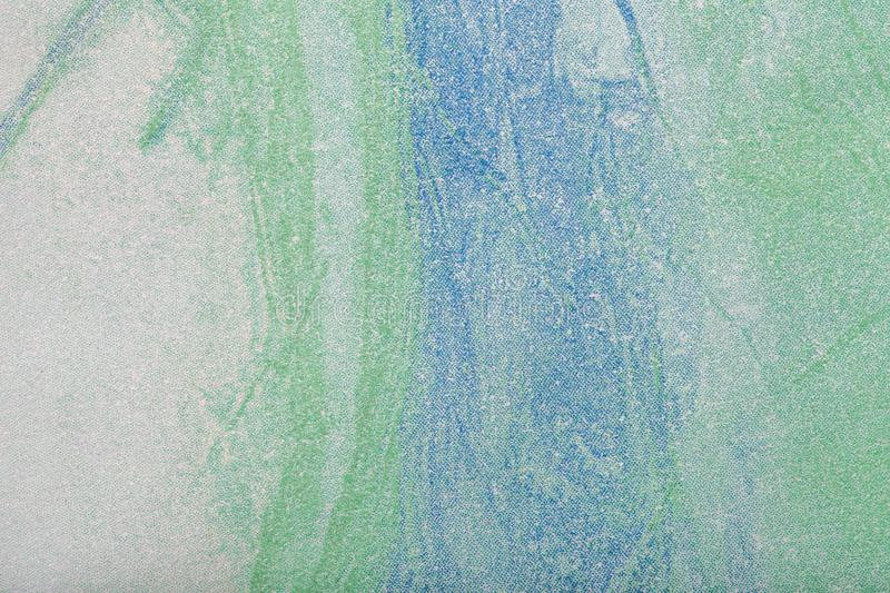 Abstract art background green and blue color. Multicolor painting on canvas. Abstract art background light green, blue and white color. Multicolor painting on royalty free stock photos