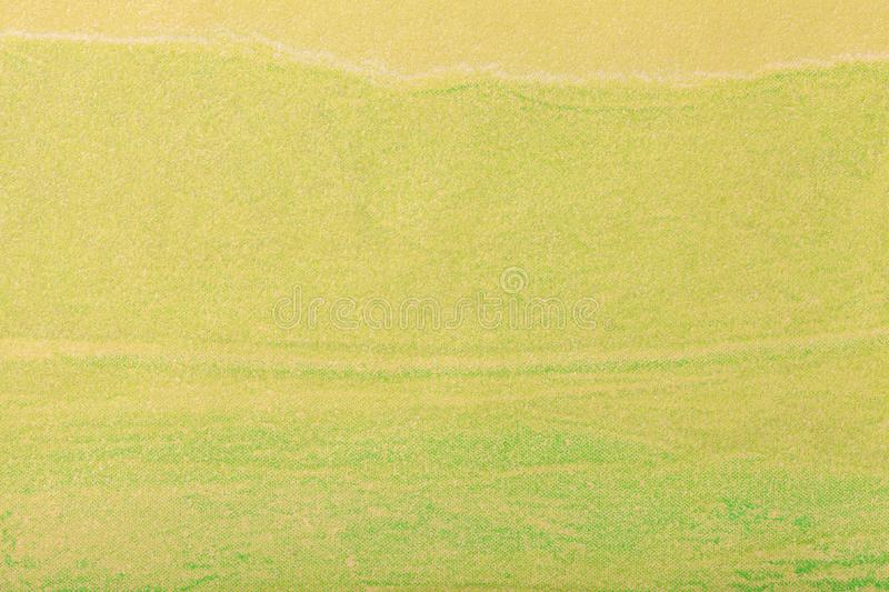 Abstract art background green color. Multicolor painting on canvas. Abstract art background light yellow color. Multicolor painting on canvas. Fragment of royalty free stock photography