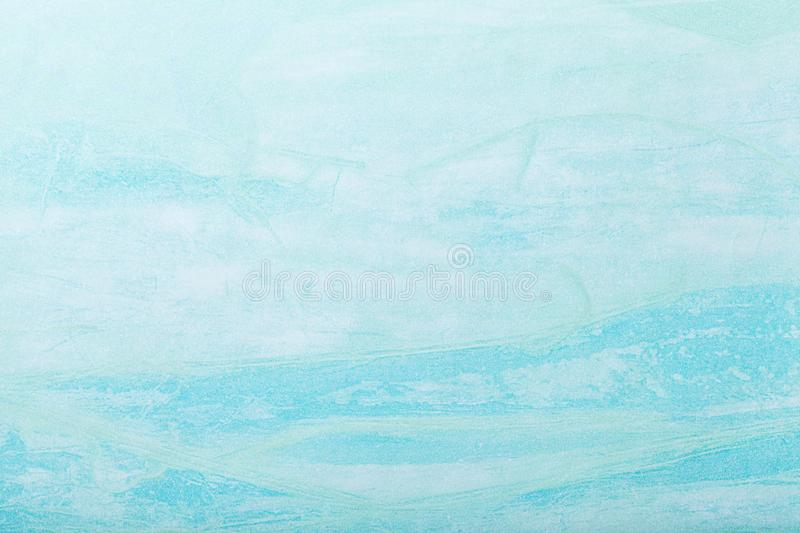 Abstract art background light blue color. Multicolor painting on canvas. Fragment of artwork. Texture backdrop. Decorative. Turquoise wallpaper royalty free stock image