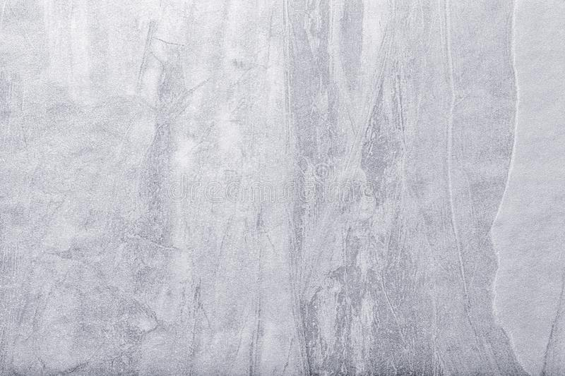 Abstract art background light gray and silver color. Multicolor painting on canvas. Stucco backdrop royalty free stock images