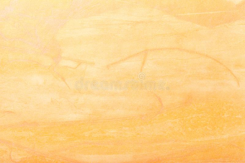 Abstract art background light yellow color. Multicolor painting on canvas. Fragment of artwork. Texture backdrop. Decorative. Golden wallpaper stock photo