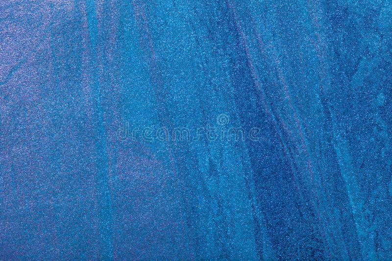 Abstract art background navy blue and turquoise color. Multicolor painting on canvas. Fragment of artwork. Texture backdrop. Decorative cyan wallpaper royalty free stock image