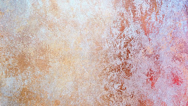Abstract art background. Oil painting on canvas. Color texture. Fragment of artwork. Spots of oil paint. Brushstrokes of paint. Mo royalty free stock photography