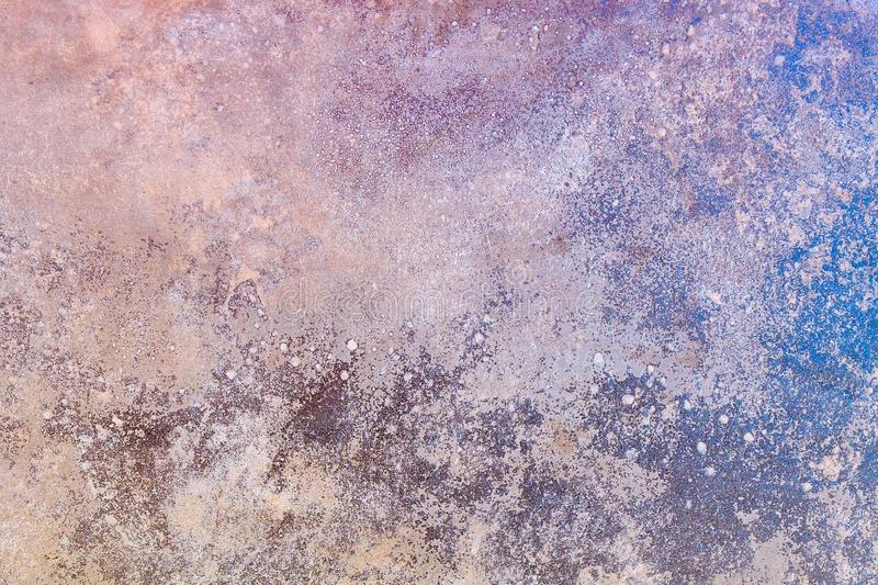 Abstract art background. Oil painting on canvas. Color texture. Fragment of artwork. Spots of oil paint. Brushstrokes of paint. Mo. Dern art royalty free stock photography