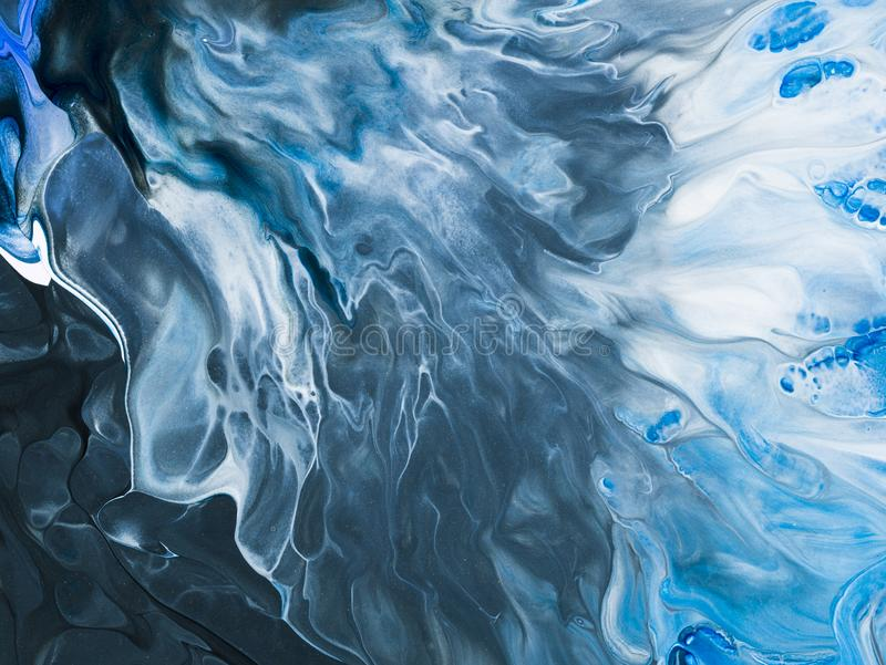 Abstract art background. Oil painting on canvas. Fragment of artwork. Spots of oil paint. Brushstrokes of paint. Modern art. Conte. Creative abstract hand stock photo